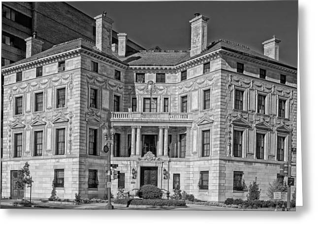 Patterson House Greeting Cards - The Patterson House - Washington DC Greeting Card by Mountain Dreams