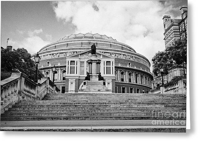 Royal Art Greeting Cards - The Royal Albert Hall London England UK Greeting Card by Joe Fox