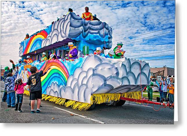 Metairie Greeting Cards - The Spirit of Mardi Gras Greeting Card by Steve Harrington