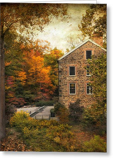 Mill Greeting Cards - The Stone Mill  Greeting Card by Jessica Jenney