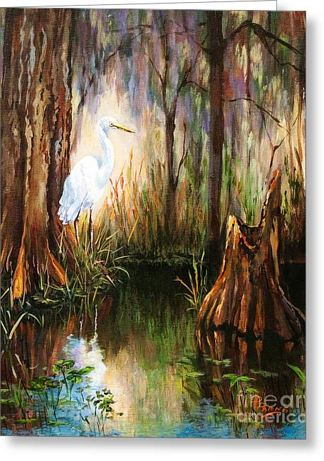 The Surveyor Greeting Card by Dianne Parks