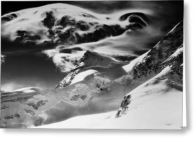 The Swiss Alps Greeting Card by Mountain Dreams