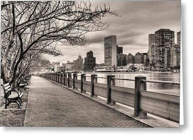 The Walk Greeting Card by JC Findley
