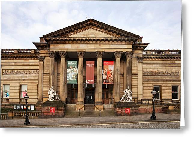 Merseyside Greeting Cards - The Walker Art Gallery, Liverpool Greeting Card by Panoramic Images