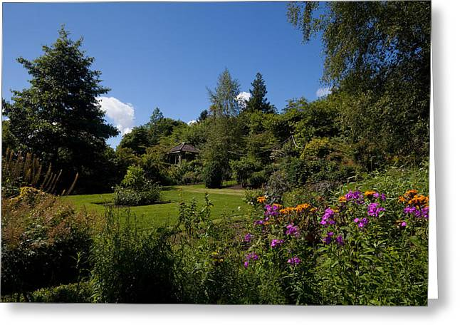 Belvedere Greeting Cards - The Walled Garden, Belvedere House Greeting Card by Panoramic Images