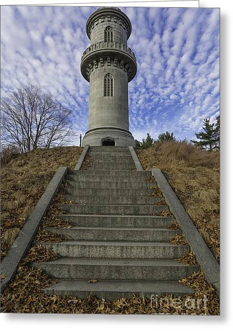 Auburn Ma Greeting Cards - The Watch Tower Greeting Card by Billy Bateman