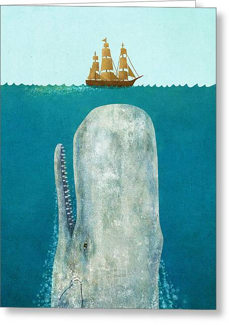 The Whale  Greeting Card by Terry  Fan