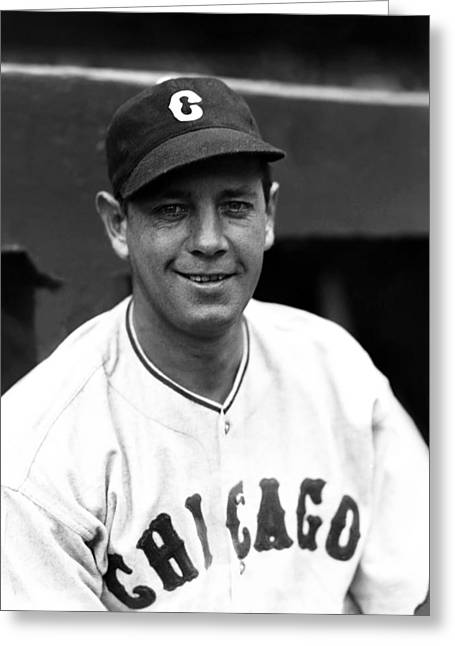 Mlb All Stars Greeting Cards - Theodore A. Ted Lyons Greeting Card by Retro Images Archive