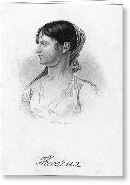 Theodosia Burr (1783-1813) Greeting Card by Granger
