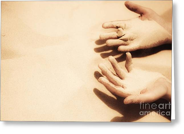 Thirst Of A Dessert Wanderer Greeting Card by Jorgo Photography - Wall Art Gallery