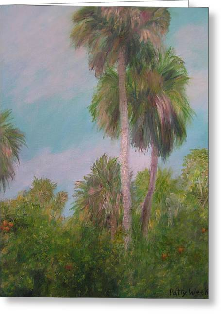 This Is Florida Greeting Card by Patty Weeks