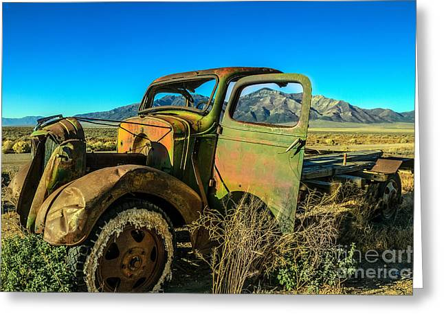 Ford Model T Car Greeting Cards - This Old Truck Greeting Card by Robert Bales