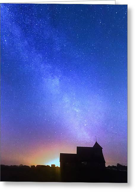 Sussex Greeting Cards - Thomas a Becket Church Greeting Card by Ian Hufton