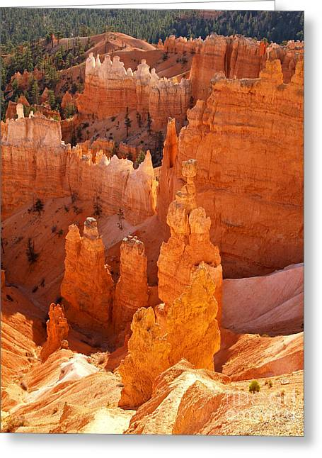 Thor Greeting Cards - Thors Hammer at Bryce Canyon Greeting Card by Alex Cassels