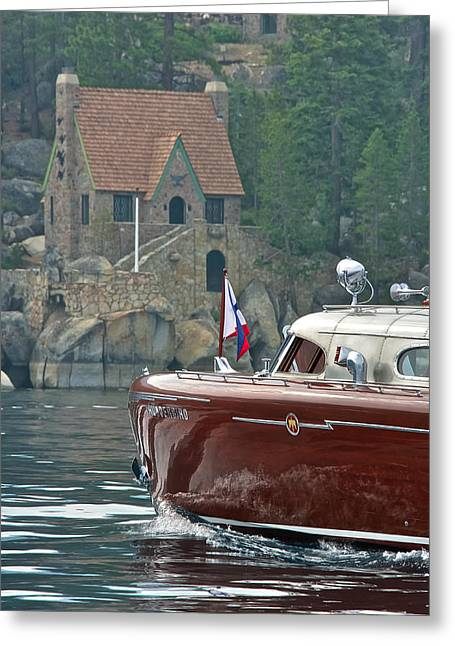 Thunderbird Lodge Greeting Card by Steven Lapkin