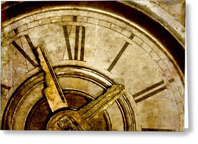 Time Travel Greeting Cards - Time Travel Greeting Card by Carol Leigh