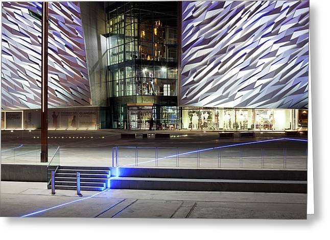 Titanic Belfast, Belfast, County Greeting Card by Panoramic Images