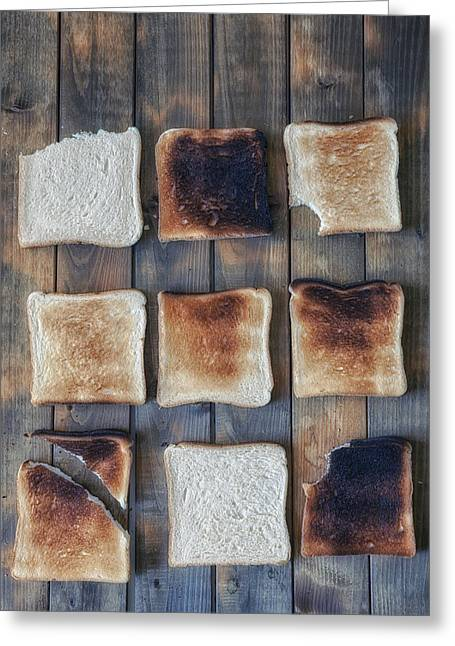 Biting Greeting Cards - Toast Greeting Card by Joana Kruse