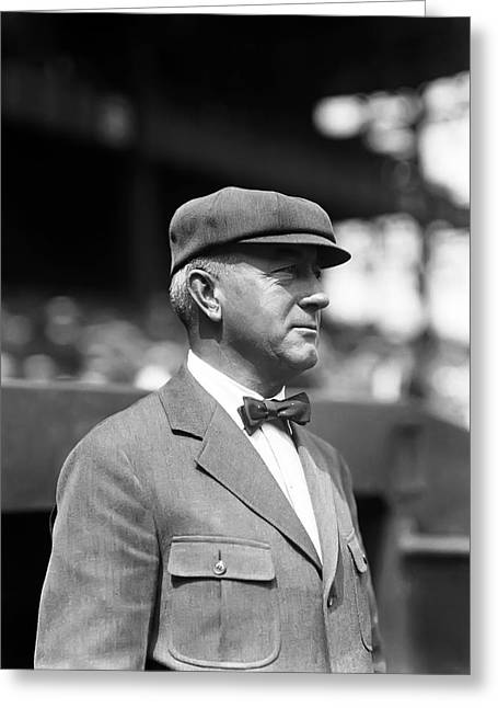 Umpire Greeting Cards - Tommy Connolly Greeting Card by Retro Images Archive