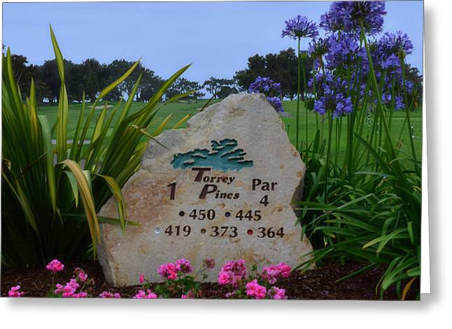 Us Open Photographs Greeting Cards - Torrey Pines South Greeting Card by See My  Photos