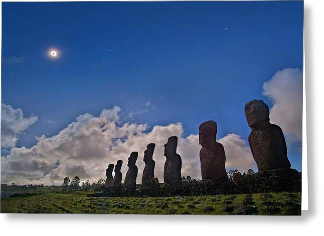 Total Solar Eclipse Greeting Card by Juan Carlos Casado (starryearth.com)
