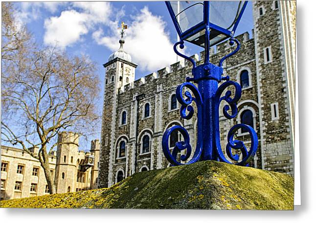 Tower of London Greeting Card by Elena Elisseeva