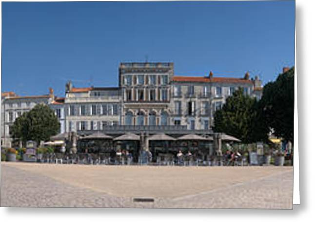 Colbert Greeting Cards - Town Hall, Colbert Square, Rochefort Greeting Card by Panoramic Images