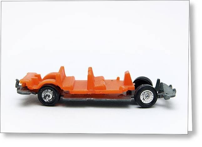 Parts Of Cars Greeting Cards - Toy car Greeting Card by Bernard Jaubert