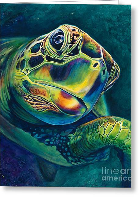 Tranquility Greeting Card by Scott Spillman