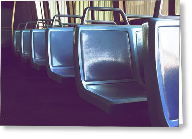 Bus Ride Greeting Cards - Transit Greeting Card by Brandon Addis
