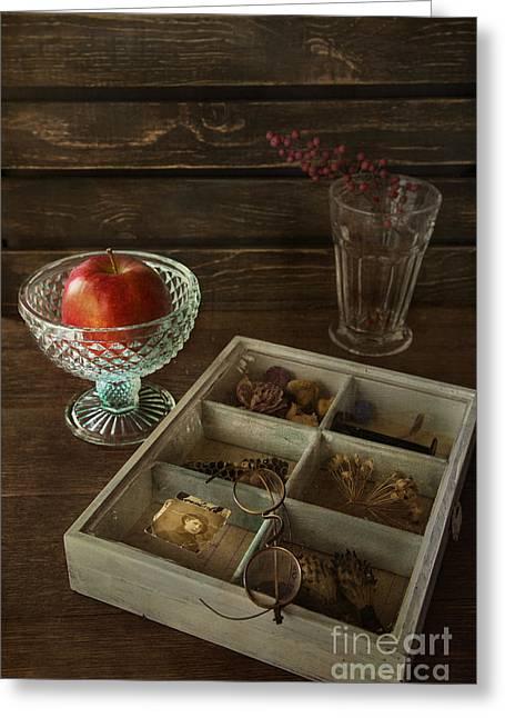 Fresh Food Photographs Greeting Cards - Treasures Greeting Card by Elena Nosyreva