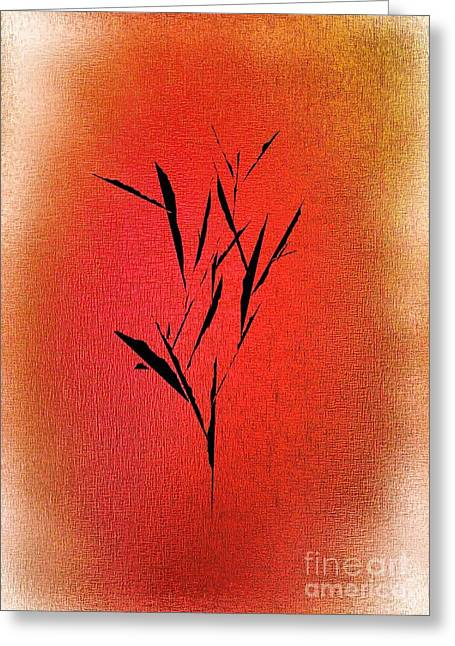 Abstract Digital Drawings Greeting Cards - Tree Greeting Card by John Krakora