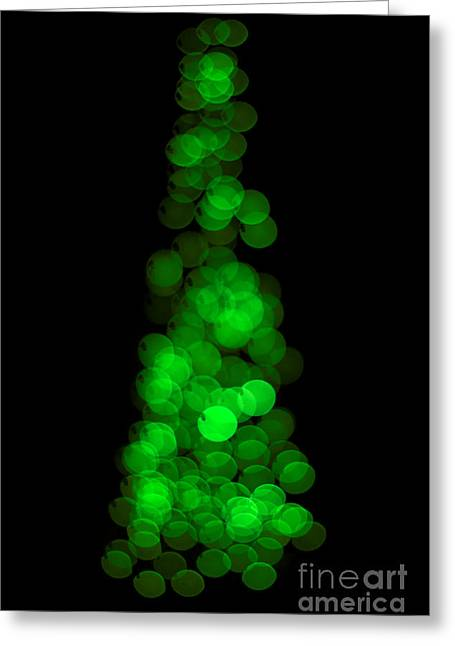 Tree Of Christmas Focus Greeting Card by Jorgo Photography - Wall Art Gallery