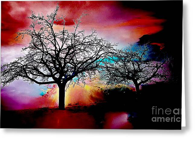 Tree Of Life Greeting Cards - Trees Greeting Card by Marvin Blaine