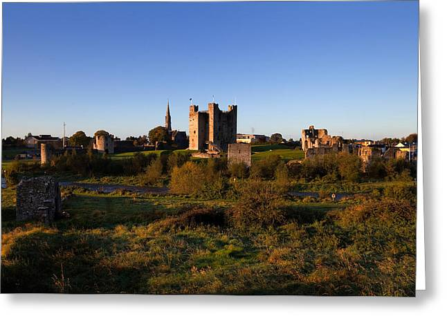 Middle Ages Greeting Cards - Trim Castle , Trim, County Meath Greeting Card by Panoramic Images
