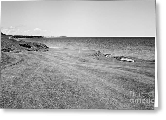 Wisconsin Golf Greeting Cards - Trouble on the Right Side Greeting Card by Scott Pellegrin