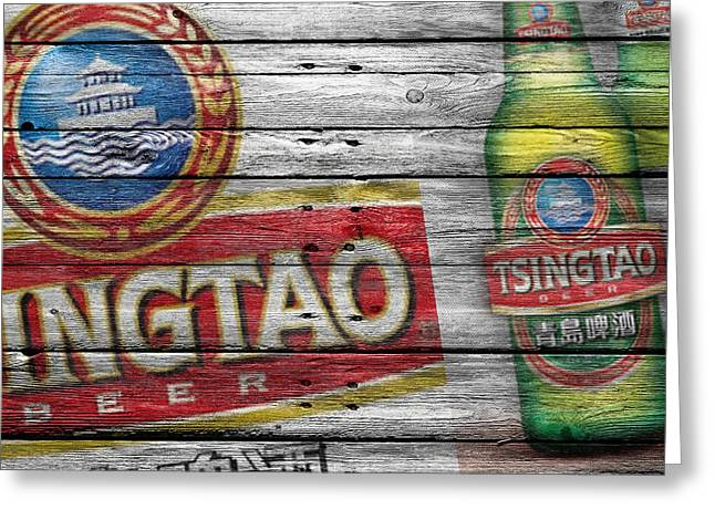 Saloons Greeting Cards - Tsingtao Greeting Card by Joe Hamilton