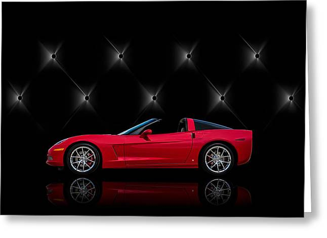 Red Chevrolet Greeting Cards - Tuff Enough Greeting Card by Douglas Pittman