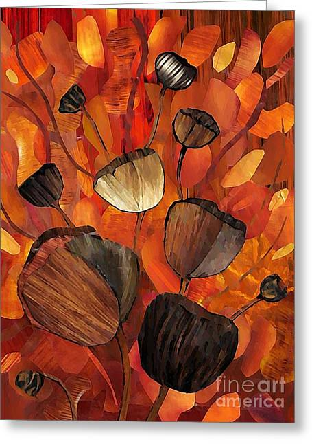 Sarah Loft Greeting Cards - Tulips and Violins Greeting Card by Sarah Loft