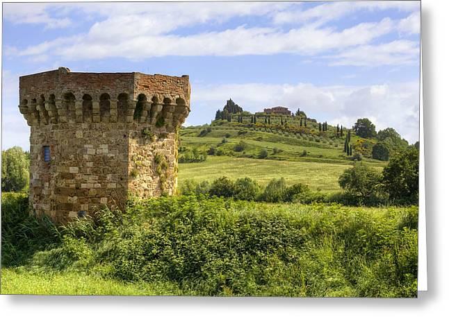 Torre Greeting Cards - Tuscany - Chiusi Greeting Card by Joana Kruse