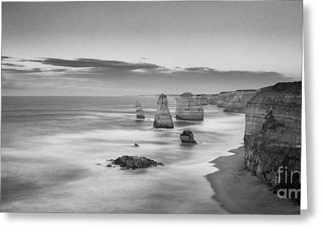 Twelve Greeting Cards - Twelve Apostles Victoria Australia Greeting Card by Colin and Linda McKie