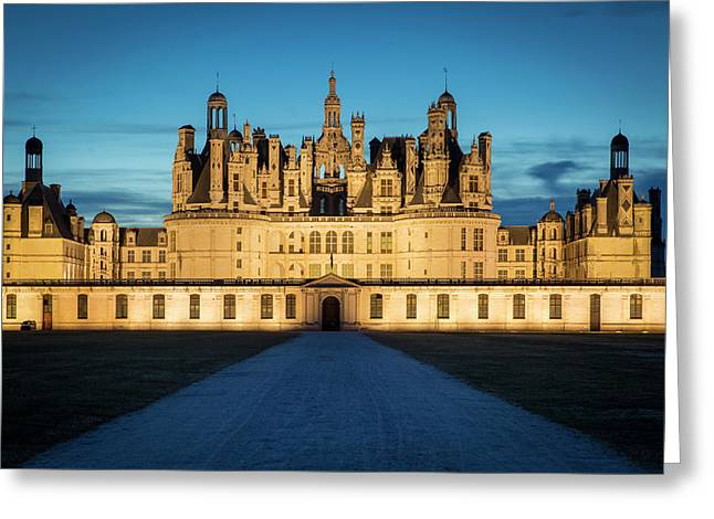 Twilight Over The Massive, 440 Room Greeting Card by Brian Jannsen