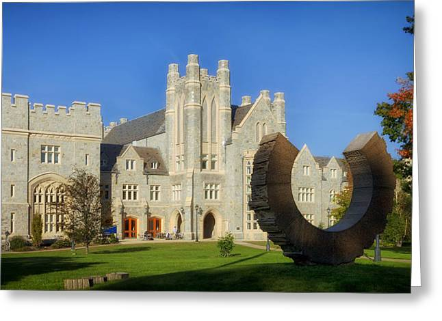 Uconn Greeting Cards - UCONN School of Law Greeting Card by Mountain Dreams