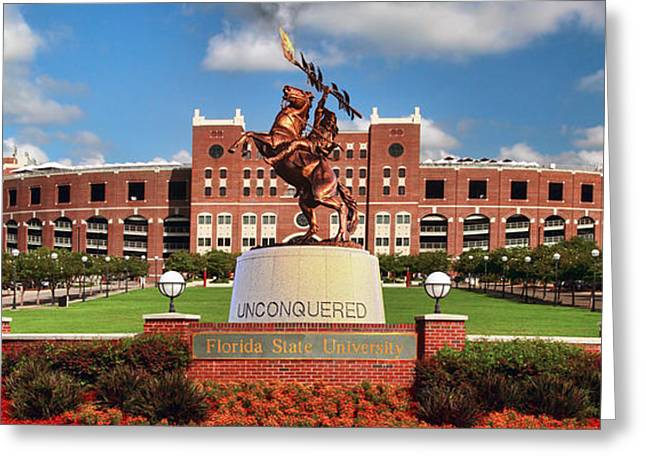 Unconquered Greeting Card by John Douglas