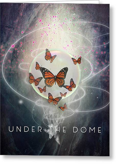 Cupula Greeting Cards - The Under the Dome Greeting Card by Barbara Ki