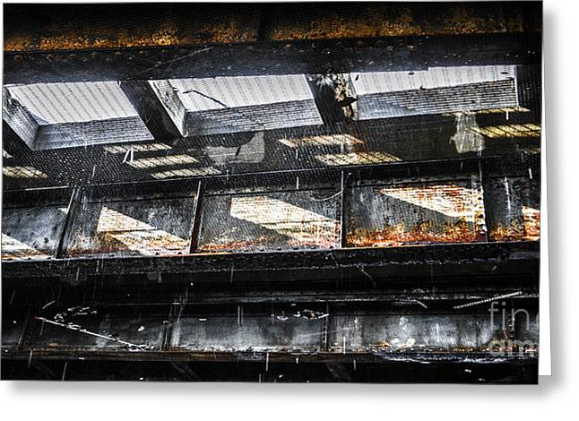 Urban Street Greeting Cards - Under the Street Greeting Card by Diane Diederich