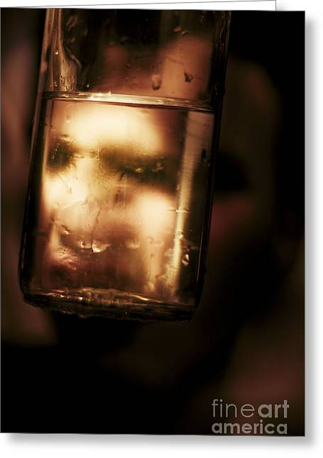 Unhappy Drunk Greeting Card by Jorgo Photography - Wall Art Gallery