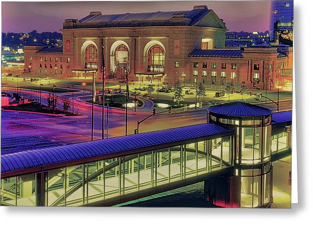 Kansas City Greeting Cards - Union Station Greeting Card by Don Wolf