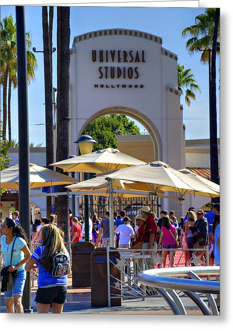 California Adventure Park Greeting Cards - Universal Greeting Card by Ricky Barnard