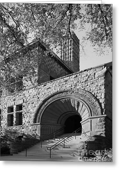 Great Cities Universities Greeting Cards - University of Minnesota Pillsbury Hall Greeting Card by University Icons